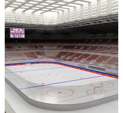 Hokejové čiary na ľad