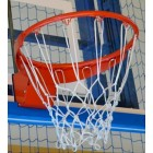 Basketbalová obruč sklápacia s plynovými piestami a háčikmi na sieť